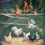 Coucher des poules