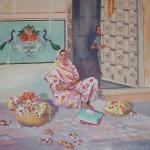 Trottoir au Rajasthan
