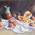Melon et pêches