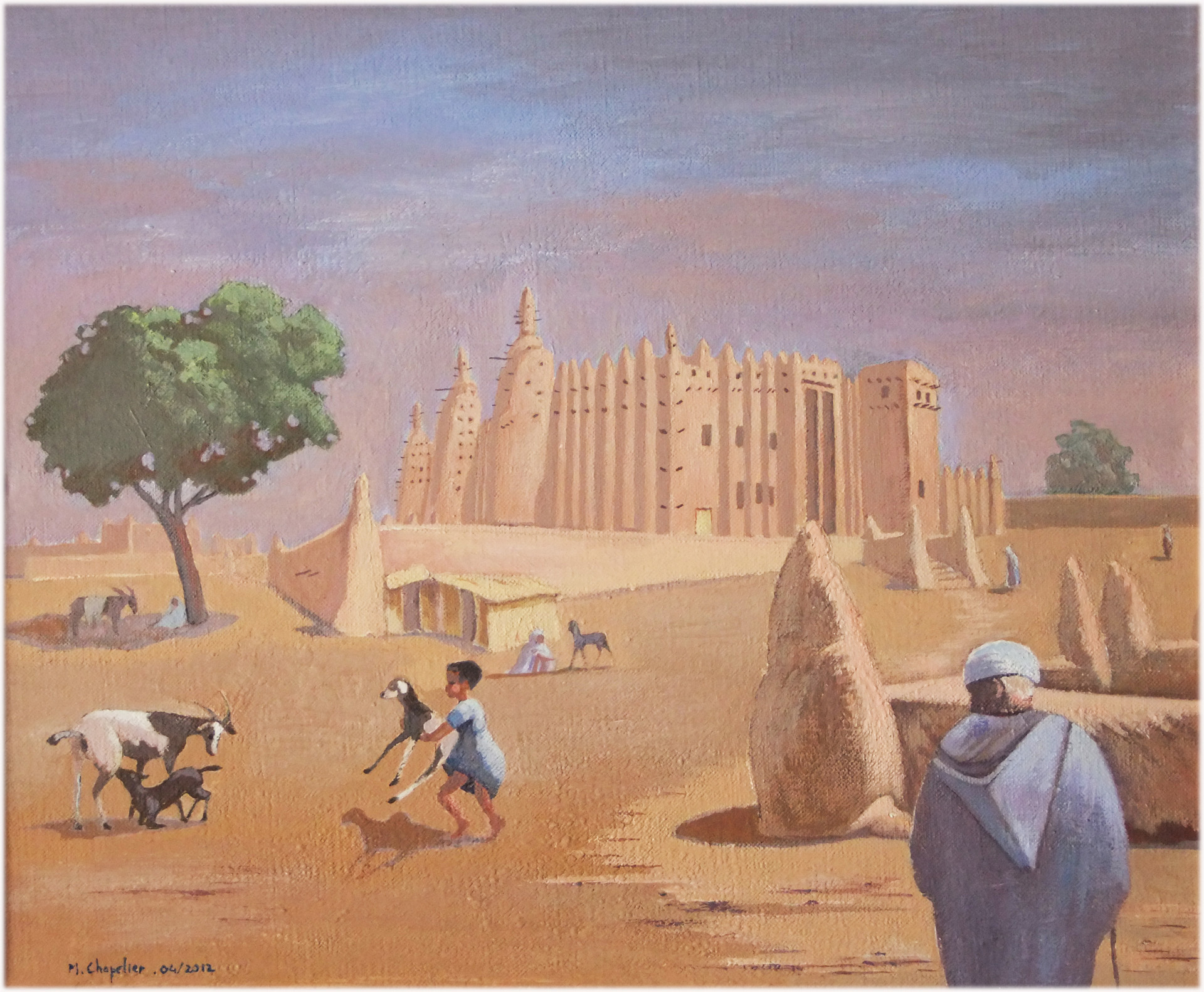 Mosquee de Djenne
