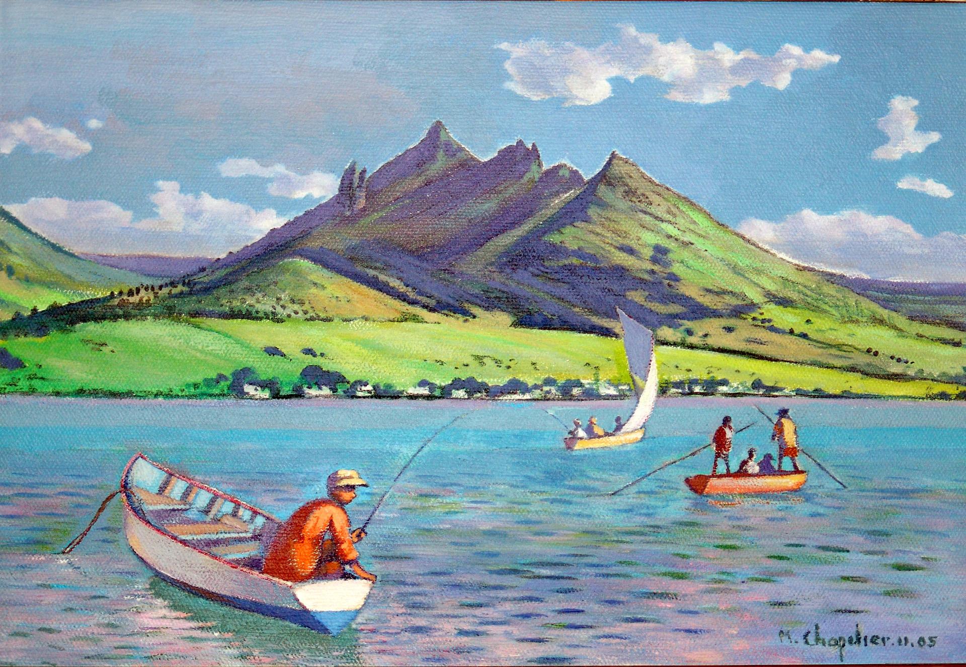 Pêcheurs de l'Ile Maurice