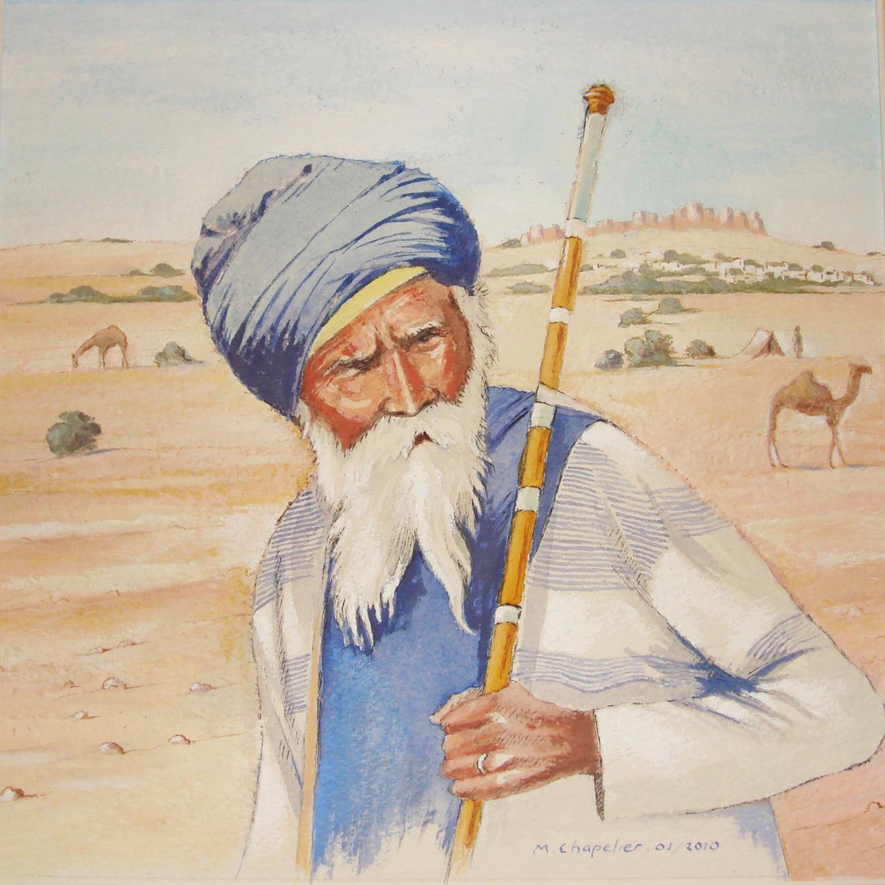 Pelerin du Rajasthan