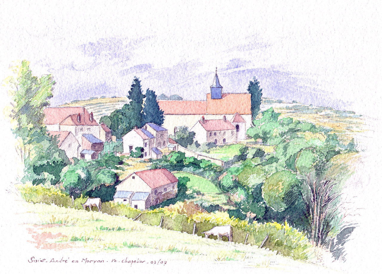Saint Andre en Morvan