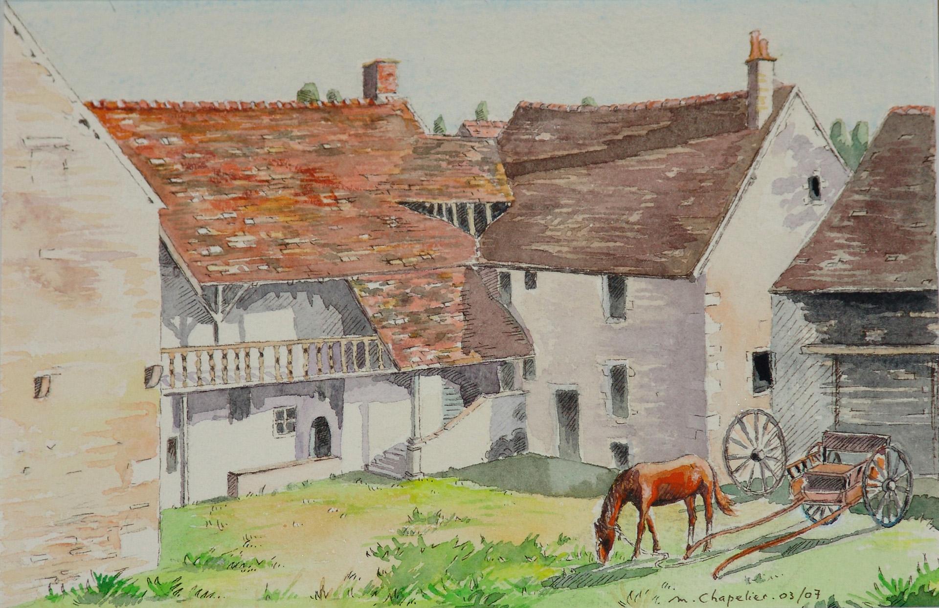 Auberge du 17ème siècle