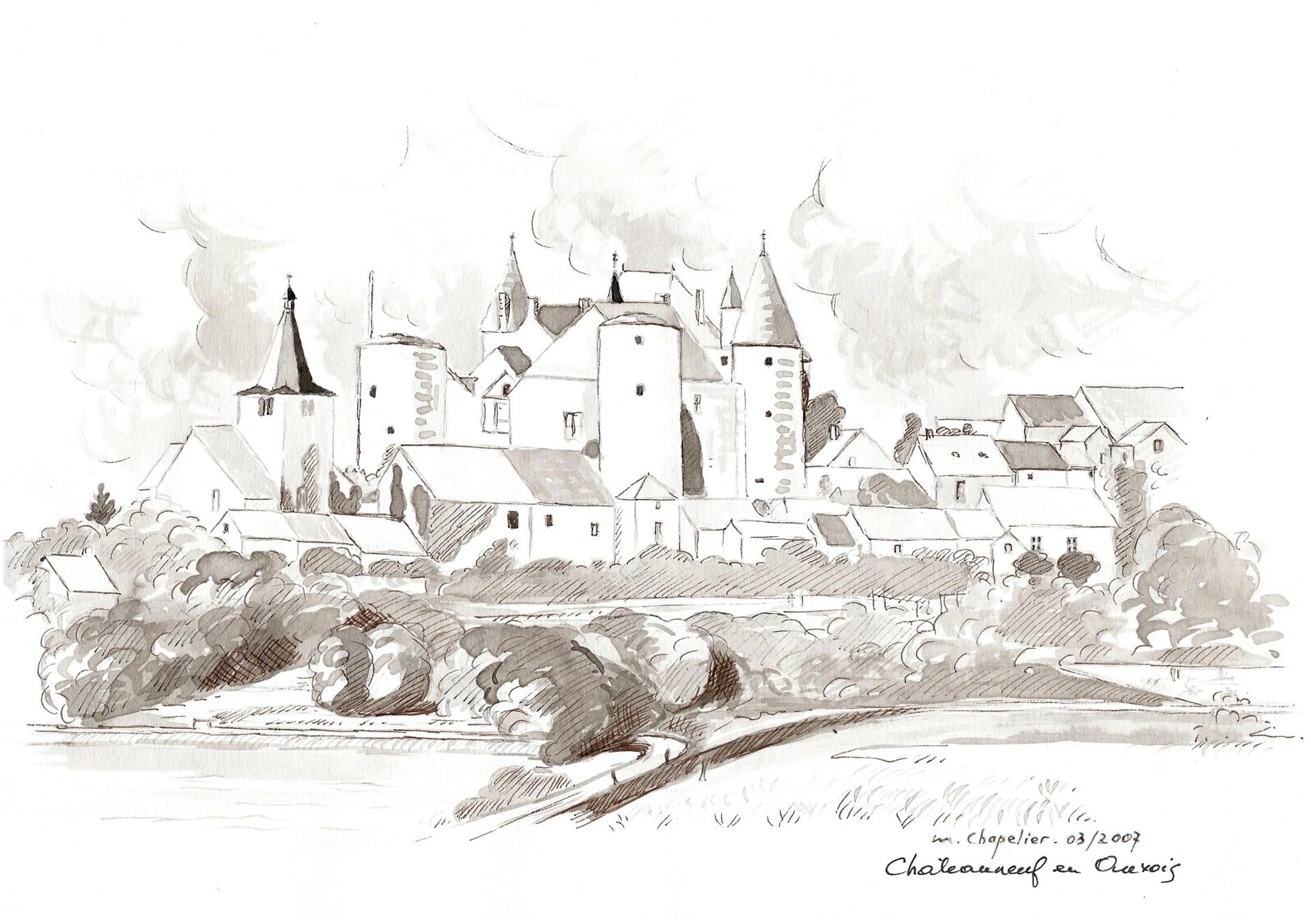 A06 Chateauneuf en Auxois