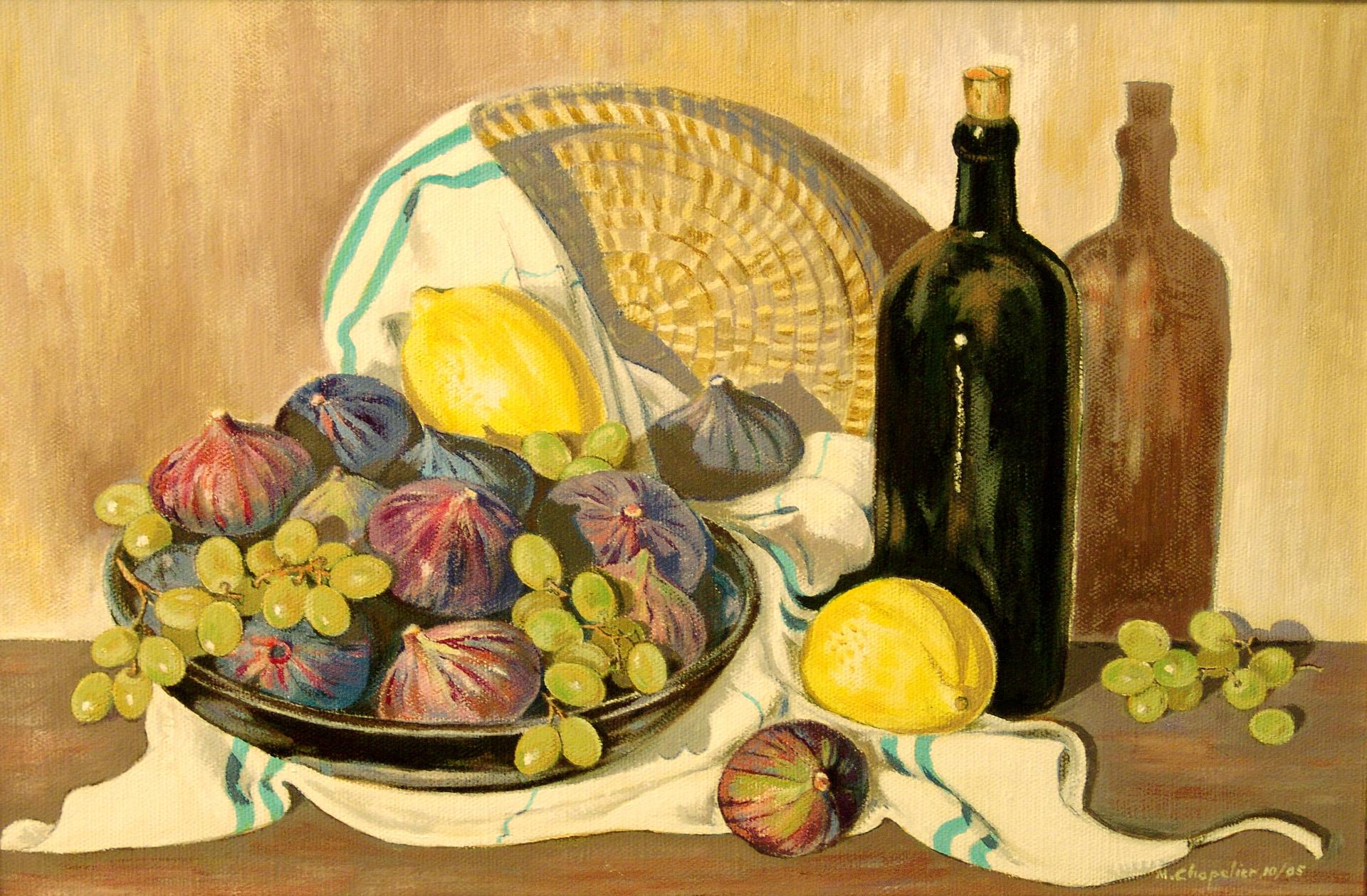 Figues,raisins et citrons