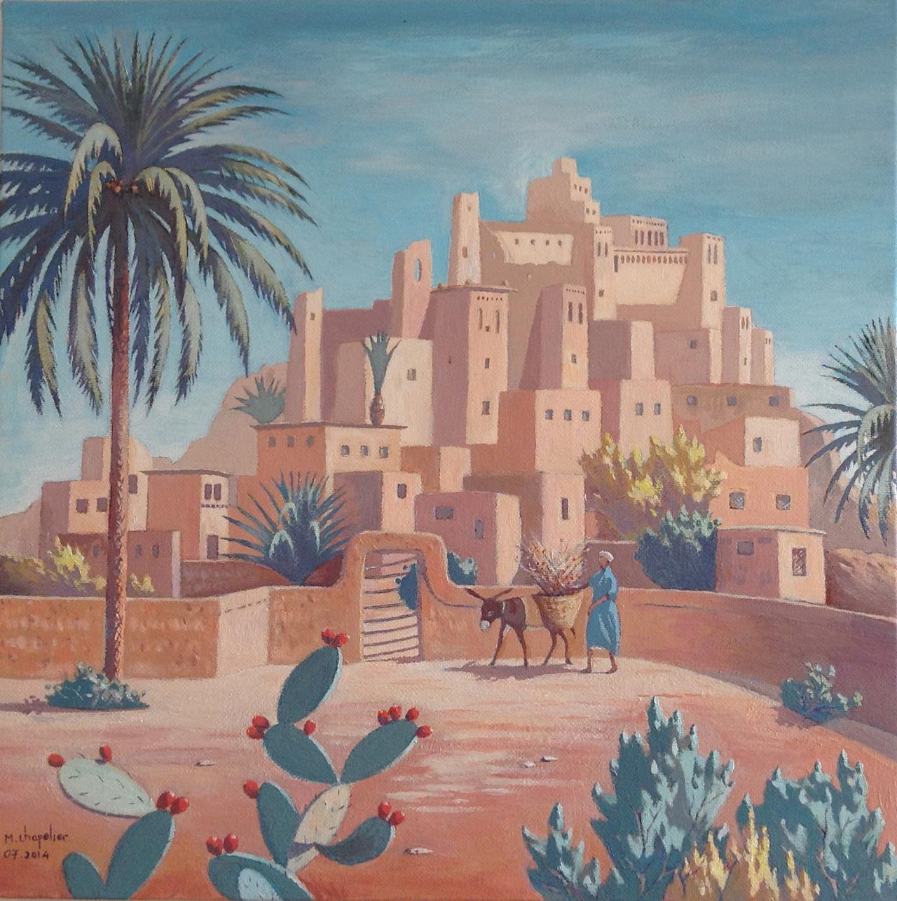 Citadelle au bord du désert seb
